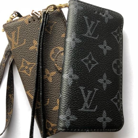 the best attitude d622d 04c6a Faux Louis Vuitton iPhone 6/6s Wallet Case
